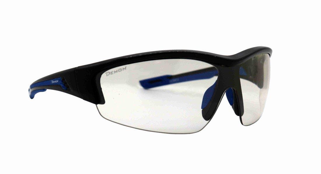 Occhiali da ciclismo per bdc e mtb con lente fotocromatica modello graz nero lucido