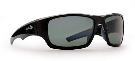 Occhiali da sci Polarizzati modello BOWL Nero Lucido