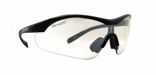 Occhiali sportivi con lente trasparente per notturna modello VENTO