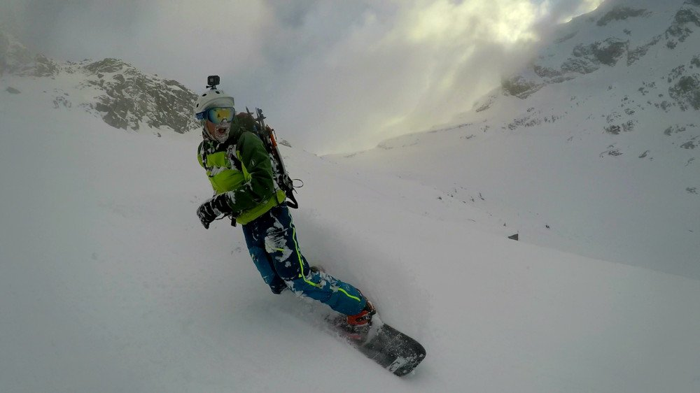 Maschera per snowboard alpinismo