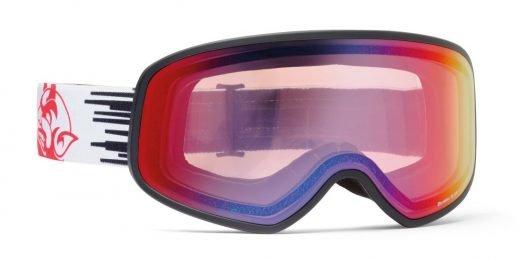 Maschera da neve per sci e snowboard fotocromatica specchiata modello demon infinity limited edition