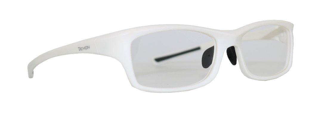 Montatura da donna da vista per running e ciclismo modello opto 3 colore bianco