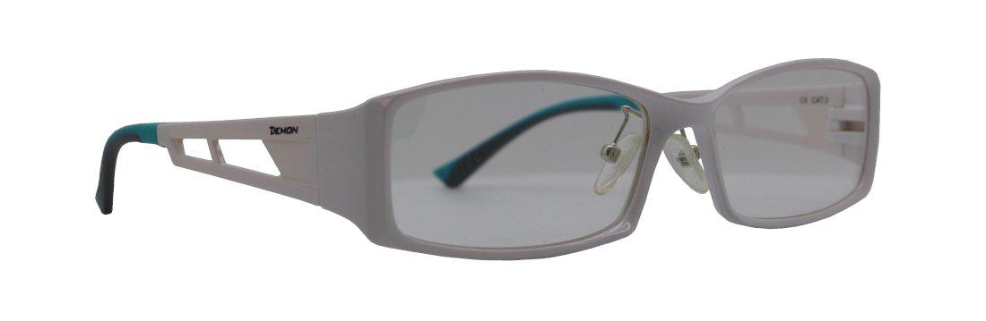 Montatura da vista sportiva per running ultraleggera ed elastica opto metal colore bianco