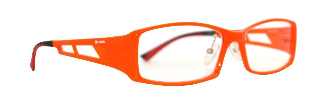Montatura sportiva da vista colore arancio per running e ciclismo opto metal