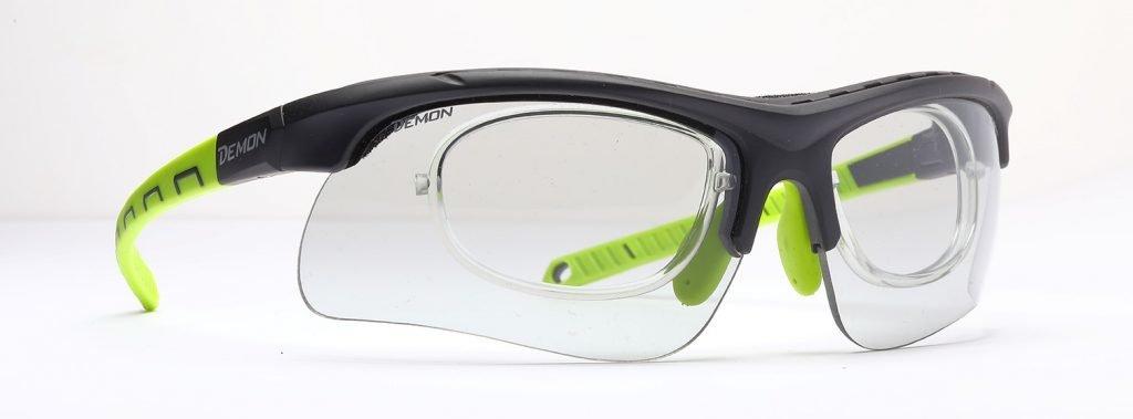 occhiale per kitesurf con lenti fotocromatiche dchrom modello infinite optic