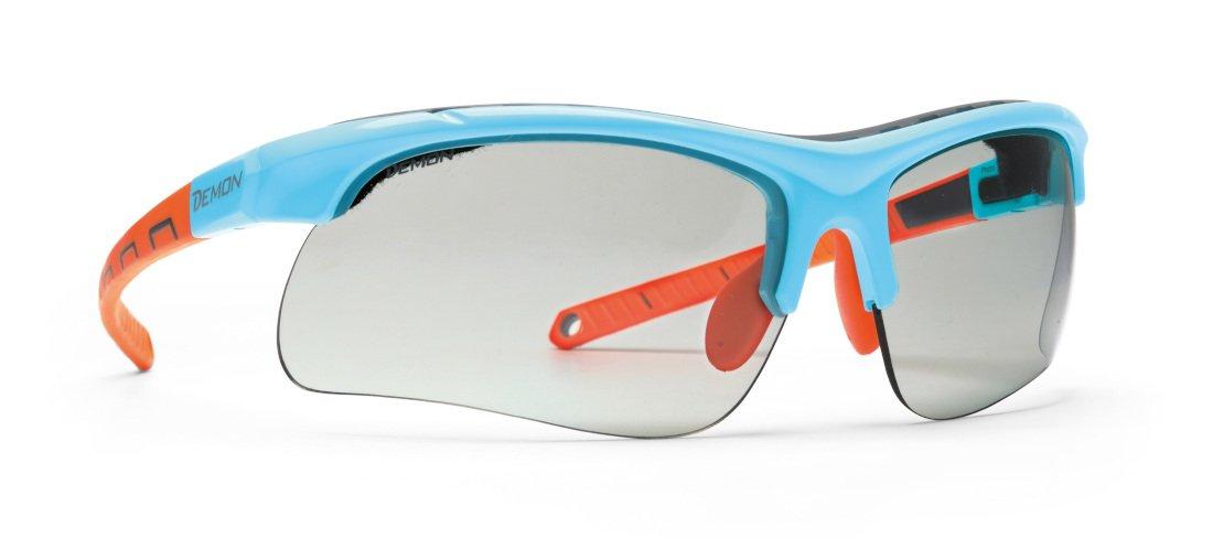 Occhiale sportivo fotocromatico dchrom per running e trail running modello INFINTE OPTIC