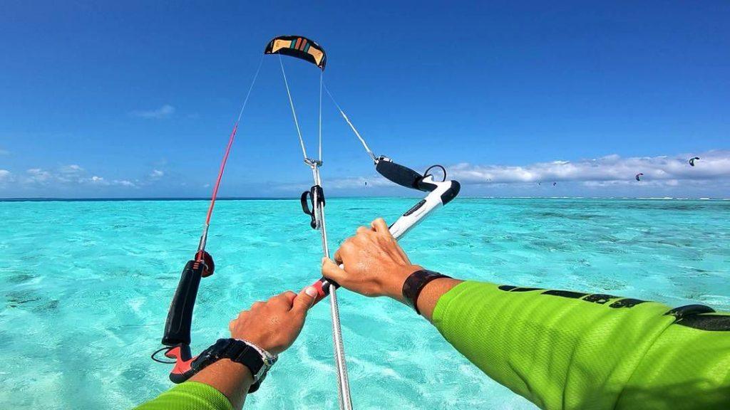 occhiali per kitesurf per acqua salata