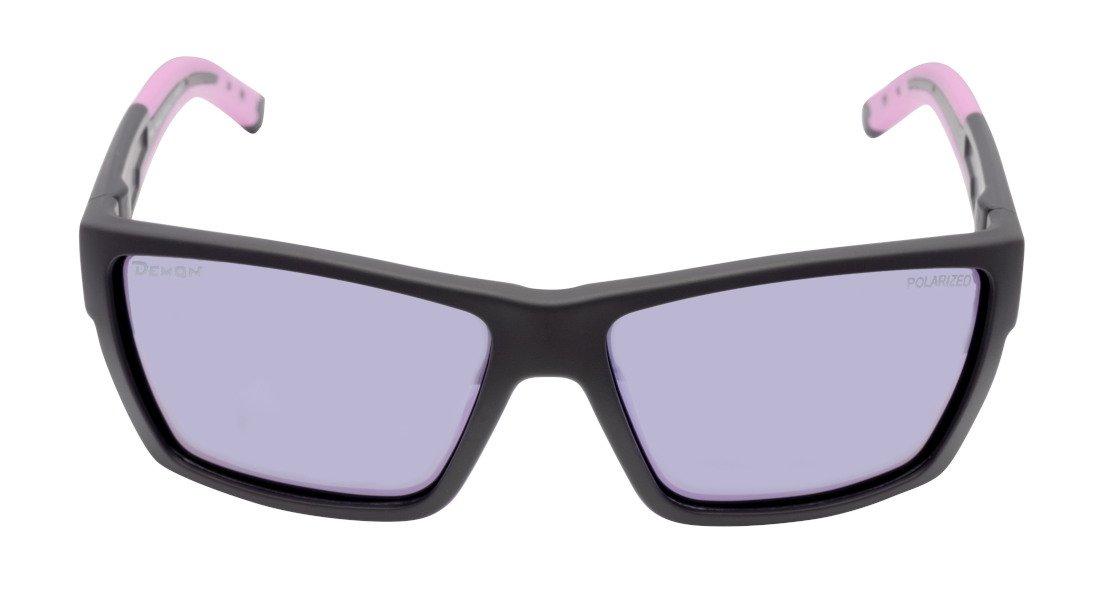 occhiale sportivo per golf lenti polarizzate modello soul nero opaco