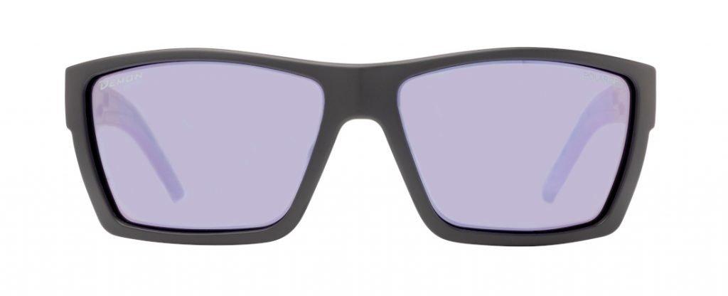 occhiale sportivo polarizzato per pesca sportiva in acqua dolce e salata modello soul nero