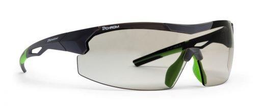 Occhiali da ciclismo a mascherina ente fotocromatica dchrom modello VISUAL