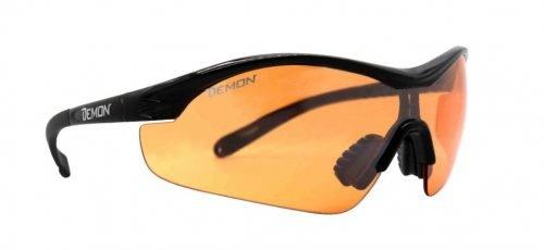 Occhiali da running e trail running lente arancio per meteo nuvoloso modello VENTO