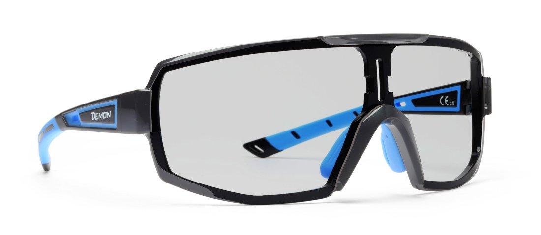 occhiali sportivi da vista lenti fotocromatiche per tutti gli sport lenti graduate modello performance rx nero blu