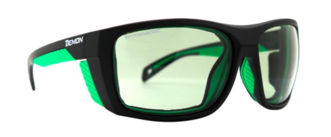 Occhiale da montagna fotocromatico 2-4 per alpinismo e trekking eiger nero verde