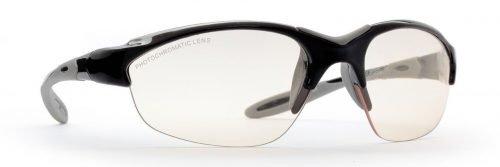 Occhiali da donna per running e trail running lenti fotocromatiche modello viper nero grigio