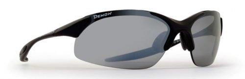 Occhiali da montagna per trekking ed escursionismo con lenti polarizzate modello 832 dpol nero opaco