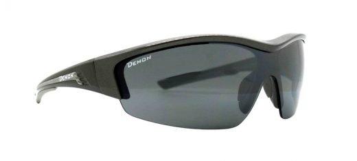 Occhiali da running e trail running monolente intercambiabile modello graz grigio antracite