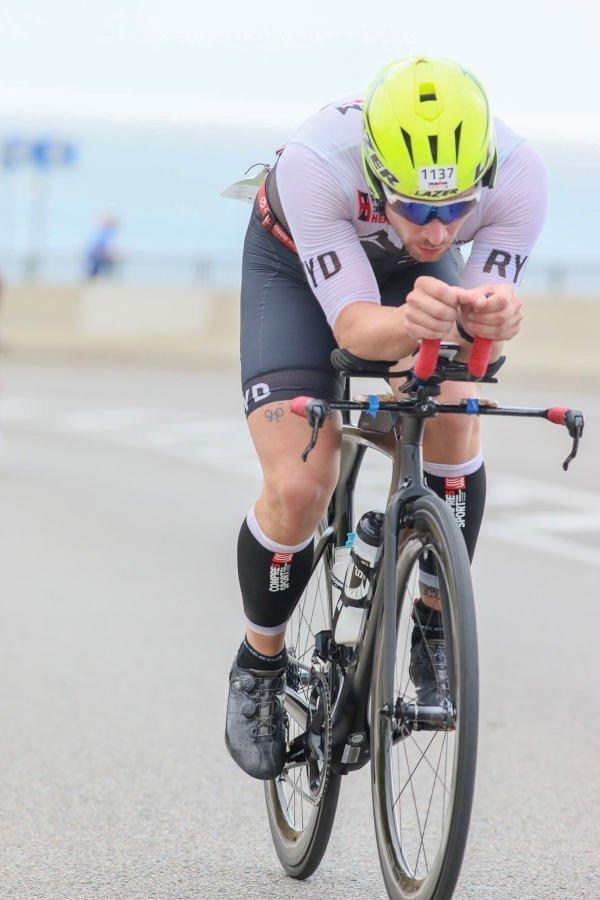 Occhiali da triathlon per ciclismo e corsa