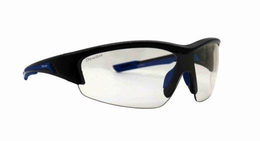 Occhiali per running e trail running monolente fotocromatica modello GRAZ nero lucido