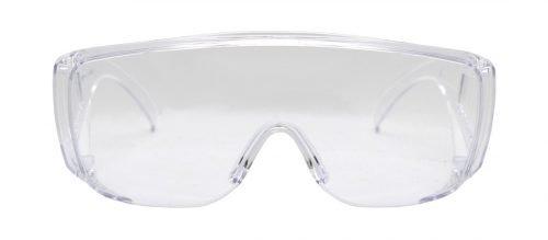 Occhiale protezione lavoro lente trasparente per la sicurezza degli occhi