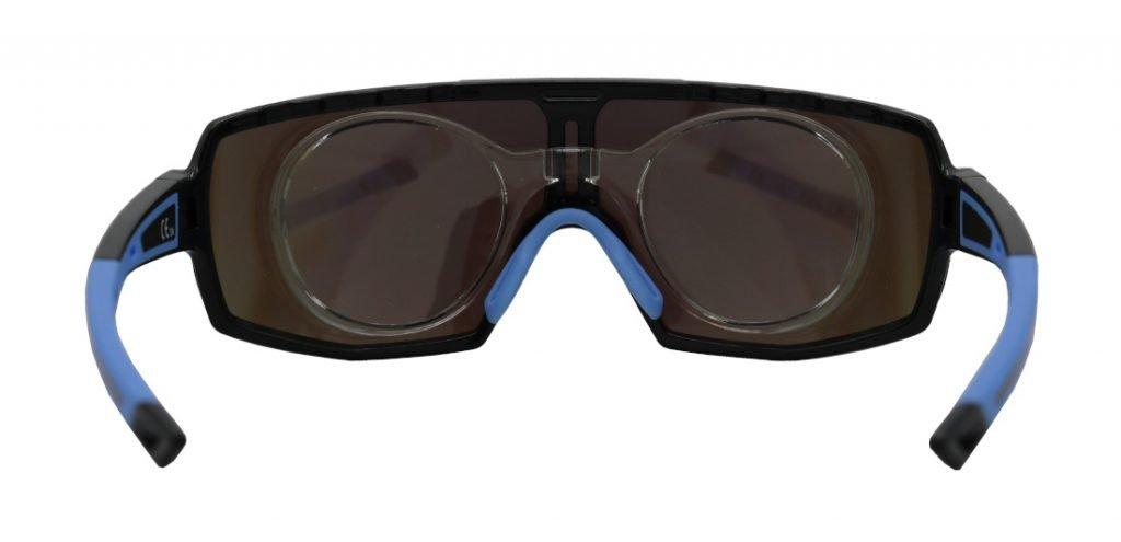 Occhiale graduato per running e trail running per lenti progressive modello performance rx