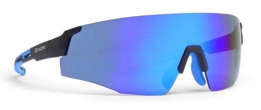 Occhiali da ciclismo su strada full lens specchiata blu dmirror modello ROAD