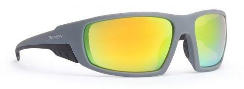 Occhiali da montagna per trekking ed escursionismo lenti specchiate modello parrot grigio opaco