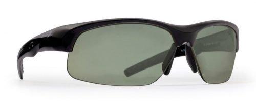 occhiali sportivi per tutti gli sport modello fusion lenti polarizzate nero opaco