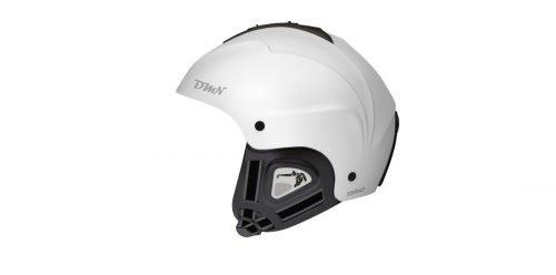 Casco da sci e snowboard orecchio morbido modello compact bianco opaco