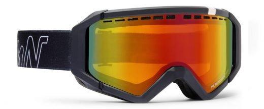 Maschera da sci lente fotocromatica specchiata polarizzata per occhiali da vista