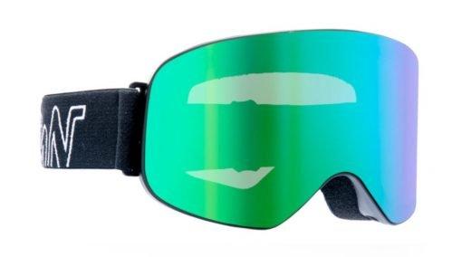 Lente da snowboard lente specchiata verdee specchiata verde modello master