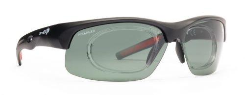 Occhiale sportivo da vista lenti polarizzate per la pratica di tutti gli sport modello fusion rx