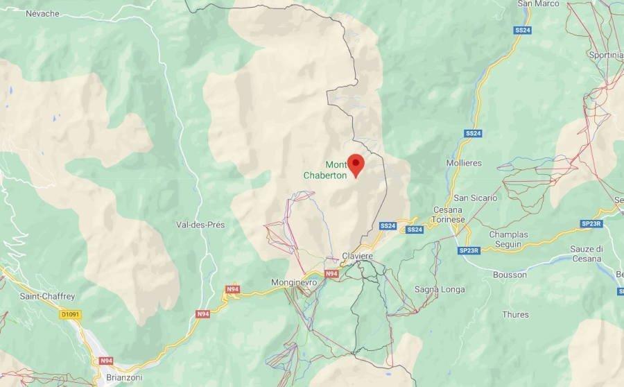 Mont chaberton itinerario mountain bike