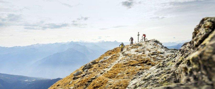 Mountain bike estremo percorsi oltre 3000 metri