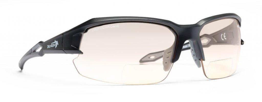 Occhiali da mountain bike bifocali lenti fotocromatiche per lettura degli strumenti modello TIGER