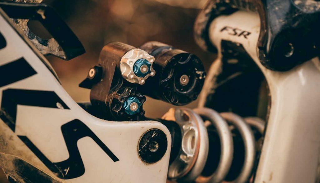 Ammortizzatore artigianale mountain bike push elevensix