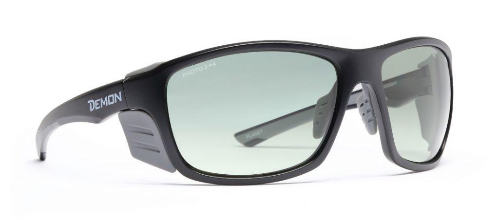 Occhiale per alpinismo fotocromatico con protezione laterale per alta montagna e ghiacciaio modello PLANET