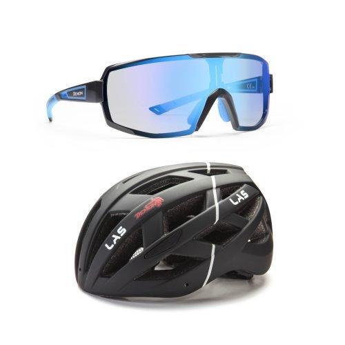 Pack 2 Demon occhiale e casco per bdc e mtb