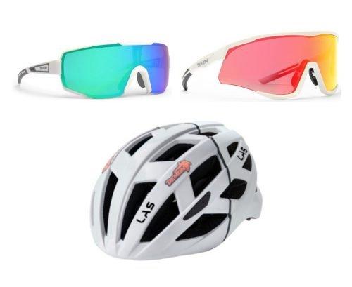 Special Pack 2 casco e occhiale specchiato